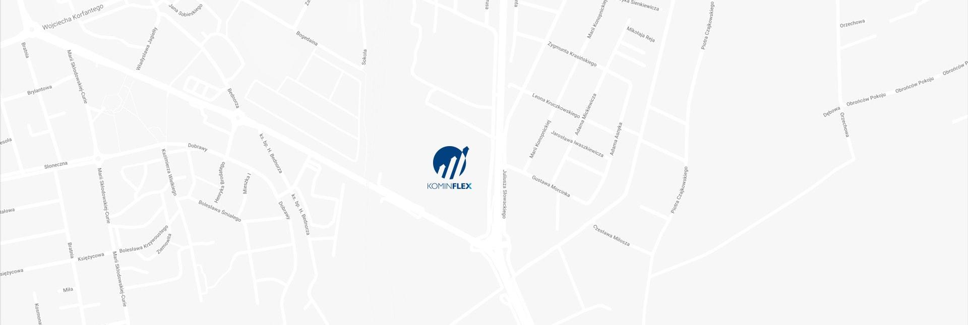Lokalizacja Kominflex