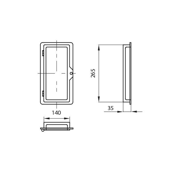dodatki drzwi wyczystki 2 rysunek